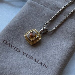 🛍 David Yurman Citrine Pendant Necklace